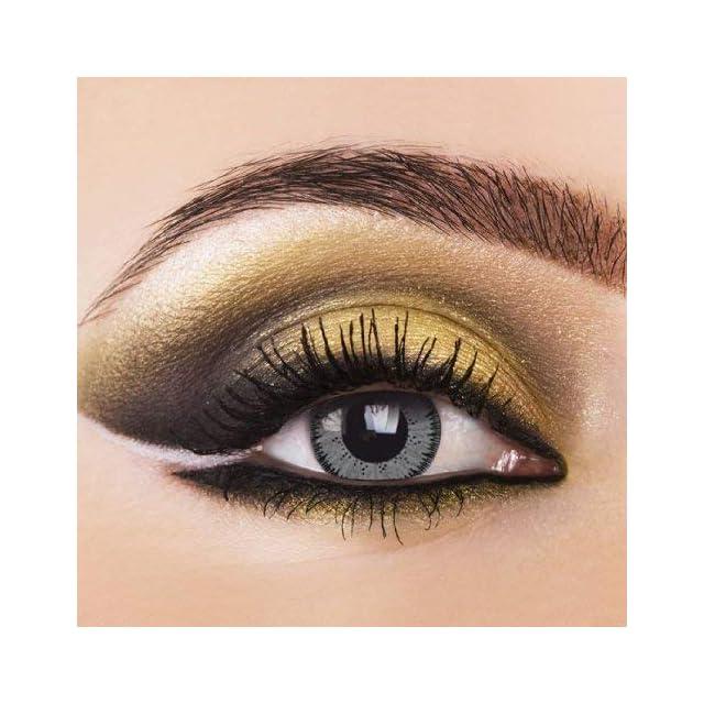 031c364303032 Lentilles de contact colorées Contact souples pouvant tenir lieu de  lentilles annuelles Sans ...