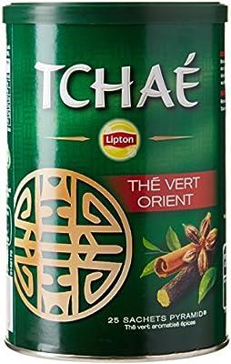 Lipton Tchaé Thé Vert Orient 25 Sachets - Lot de 3