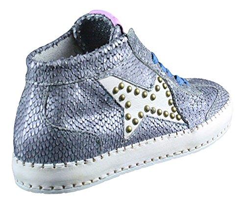 A.S.98   Airstep   High Top Sneaker - blau   mirtillo Grau
