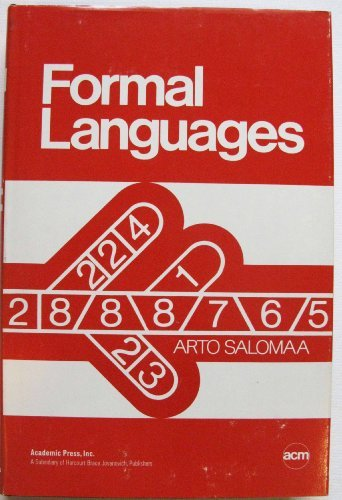 Formal Languages (Monograph series / Association for Computing Machinery)