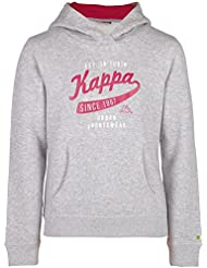 Kappa Mädchen Wenke Hooded Sweatshirt Short Sleeve