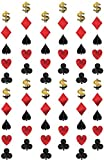 Amscan International Hanging String Decorations Casino, Pack of 6
