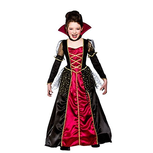 Prinzessin-Vampirs-Kinderkarneval / Halloweenkostüm (Vamp Kostüm Ideen)