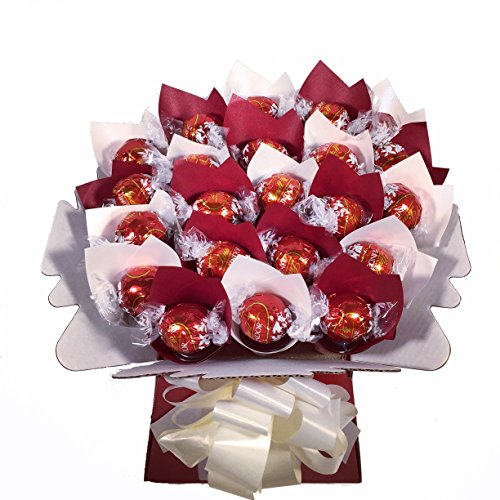 Lindt Lindor 22 Chocolate Bouquet - Sweet Hamper Tree Explosion