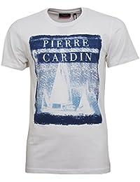 Pierre Cardin New Season Summer Sailing Print Fashion T Shirt
