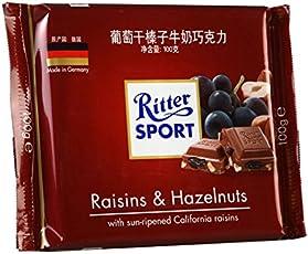 Ritter Sport Raisin, Hazelnut, 100g