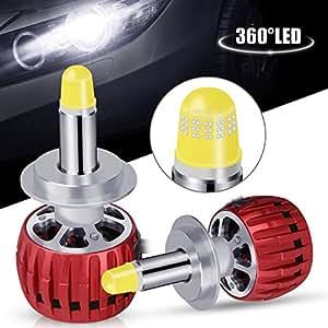 H7 led lampadine oasser 360 kit per la macchina 60w for Lampadine h7 led