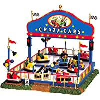 Lemax - Crazy Cars, Set Of 6, With 4.5v Adaptor