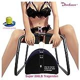 DACHMA Sexmöbel Sex Stuhl und Ramps Kissen Sexmöbel Stuhl - Love Chair Sexmöbel Aufblasbar Sex Schaukeln Sex Toys Sexmöbel für Paare mit Loch 27 Arten von Posen 50x43x39 Zentimeter (FBA-NW-CR-239)