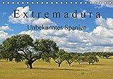Extremadura - Unbekanntes Spanien (Tischkalender 2018 DIN A5 quer): Die Extremadura, das Herkunftslandand der spanischen Konquistadoren, verzaubert ... Orte [Kalender] [Apr 01, 2017] LianeM, k.A - CALVENDO