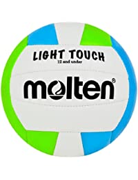 Molten Light Touch Volleyball, Green/White/Blue by Molten