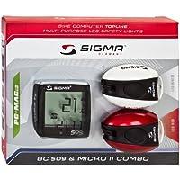 Sigma BC 509/Micro II Light Combo Kit, weiß/rot