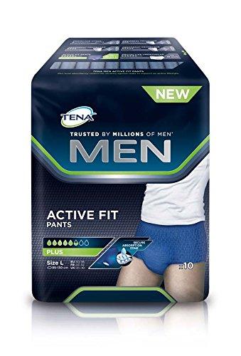 TENA MEN ACTIVE FIT PANT PLUS L (4x10 St)