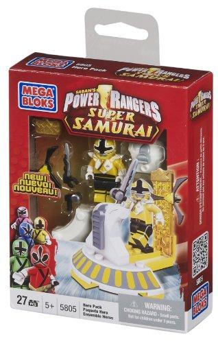 Mega Bloks Power Rangers Samurai Yellow Hero Pack