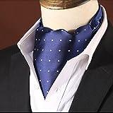 WYM Schals Männer Anzüge Anzüge Halstücher Gezeiten Männer Halstücher Schals,Blue