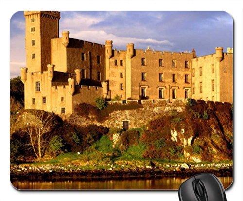Dunvegan Castle (scotland dunvegan castle castle isle of skye Mouse Pad, Mousepad (Medieval Mouse Pad))