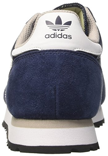 adidas Haven, Formatori Bassi Unisex – Adulto Blu (Collegiate Navy/footwear White/clear Granite)