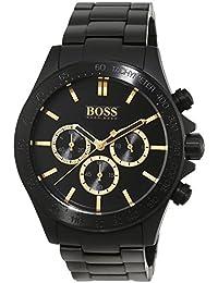Hugo Boss Herren-Armbanduhr Chronograph Quarz Edelstahl 1513278