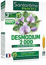 Desmodium 2000 | Complément Alimentaire Foie et Digestion - Fonction Hépatique| 20 Ampoules