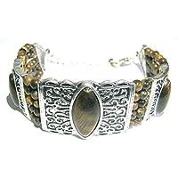 Exklusive Tigerauge Armband Kristall Fashion Wicca Jewelry Geschenk Positive Energie Wellness metaphysisch Edelstein... preisvergleich bei billige-tabletten.eu