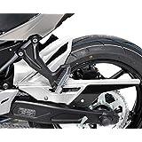 Guardabarros trasero Bodystyle Kawasaki Z 650 2017 blanco/ negro