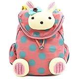 BAOSHA KD-02 Babyrucksack Kindergartenrucksack Kindergartentasche Backpack Schultasche Kinder (Rosa)