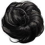 PRETTYSHOP parrucchino Hairpiece cravatta capelli updos crocchia ricci o disordinato, diversi colori