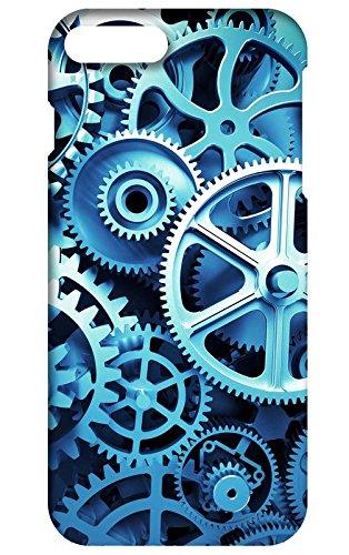 Back cover for Apple iPhone 8 plus | Designer case |machine engineer blue colored iPhone 8 plus case| 3D Premium quality (Multicolor, Matte Finish,Poly-Carbonate hard plastic)