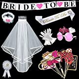 Yidaxing 38 Pezzi Sposa di Essere Bride to be Satin…