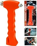 2 x 2in1 Nothammer Notfallhammer Hammer Gurtschneider Gurtmesser Auto Sicherheit
