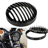 """Compatibile con:  Harley Davidson XL 1200 2004-2014  Harley Davidson XL 883 2004-2014  Materiale: Alluminio CNC  Diametro: 5 3/4""""  Superficie nera, anodizzata e lucidata."""