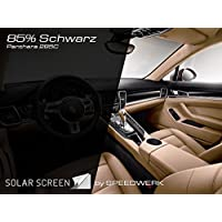 Fensterfolien Solar Screen Audi A1 Tönungsfolie Bj 2010-3-Türer Scheibenfolienset passgenau Black 85 Autozubehör