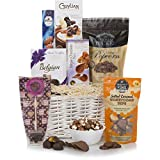 Cesta de Placer de Chocolate - Cestas de chocolate de lujo - El último regalo dulce para todas las ocasiones,...