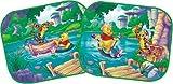 Bottari Winnie Pooh WPSAA015 Sonnenschutz, 36x45 cm, Paar