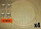 Kit de réparation pour chaises en Paille de Vienne Niveau de qualité AA 3/8'. pour 4 assises