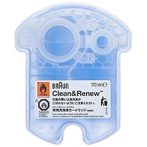 Braun Clean&Renew CCR Reinigungskartusche (4er Pack)