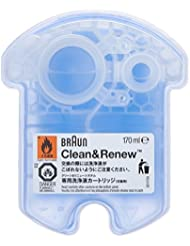 Braun CCR4 Clean & Renew Cartouches De Recharge, Pack de 4 Recharges
