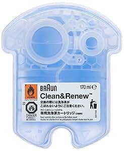 Braun CCR4 Clean & Renew Cartouches De Recharge, Pack de 4Recharges