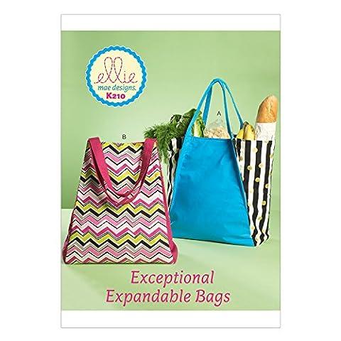 Kwik Sew Patterns K0210 OSZ Bags, Multi-Colour