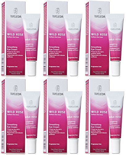 Preisvergleich Produktbild (6er BUNDLE) / Wild Rose Smooth Eye Cream / 10ml - Weleda