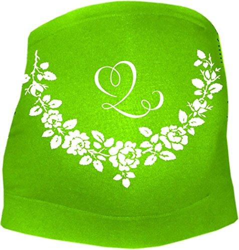 KLEINER FRATZ - Ceinture de grossesse spécial grossesse - Slogan - Femme - vert - 50