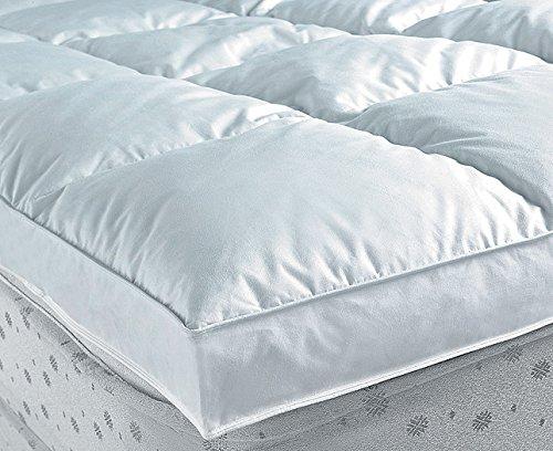 Nordiko - Topper plumon 1300 gr/m2 cama de 200, tamaño 200 / 200 cm, color...