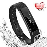 Fitness Tracker, Slim Bluetooth Braccialetto attività Activity Tracker IP67 Contapassi Smart...