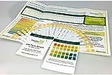 SimplexHealth PH-Teststreifen für Urin und Speichel (25 Streifen) (mit kostenloser Säure und Basen Lebensmitteltabelle als pdf)