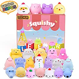 Squishies Mini Squishy Giocattoli Morbidi Misti Cute Squishy Gatto Morbido Spremere, No Tossici e Gi