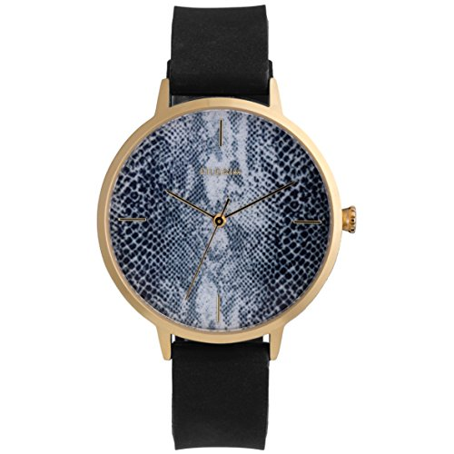 Pilgrim Damen Analog Quarz Uhr mit Silikon Armband 701732150