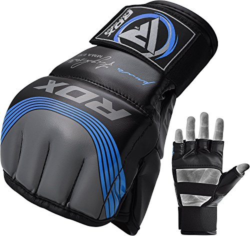 RDX MMA Handschuhe Maya Hide Leder Trainingshandschuhe Abbildung 2
