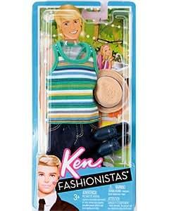 Mattel - Habit Ken Fashionista avec accessoires - Tenue de campagne