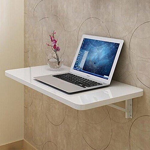 Folding table NAN Holz Wand-montiert Drop-Blatt Tisch Klapp Küche Esstisch Kinder Tisch (weiß) (größe : - Klapp-esstisch