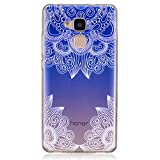 Huawei Honor 5C Case, BONROY® Huawei Honor 5C Fashion painting pattern Case Bumper Transparent Soft Gel Shockproof Case Resist Protection Shell for Huawei Honor 5C